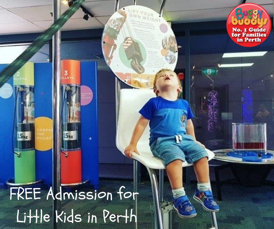 Free Admission for kids in Perth