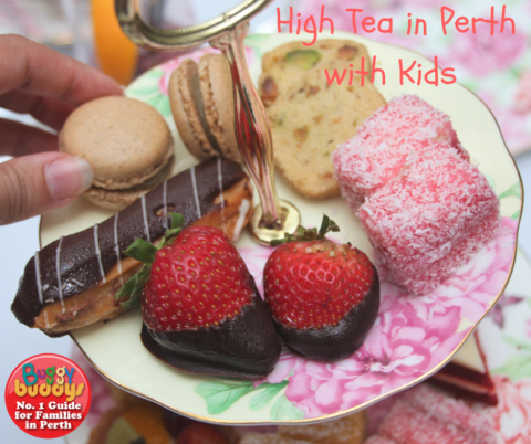 High Tea in Perth with Kids