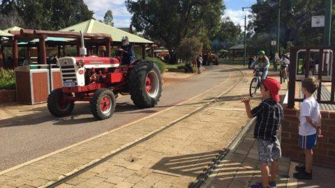 Tractor Parade, Whiteman Park