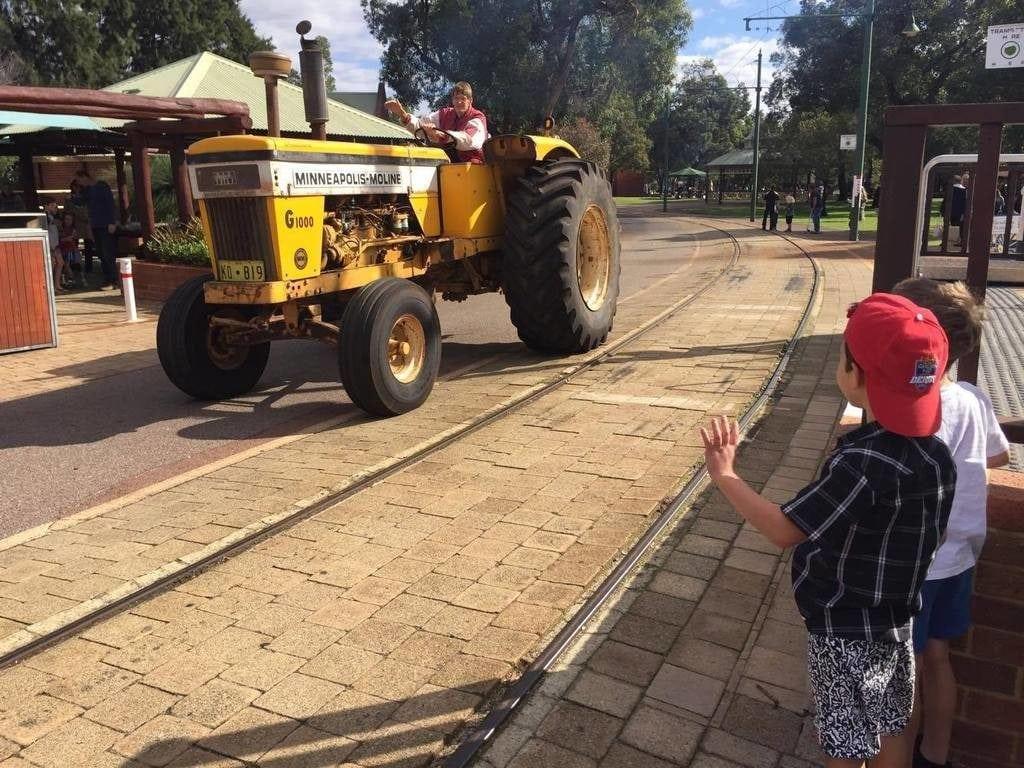 Tractor Parade Whiteman Park