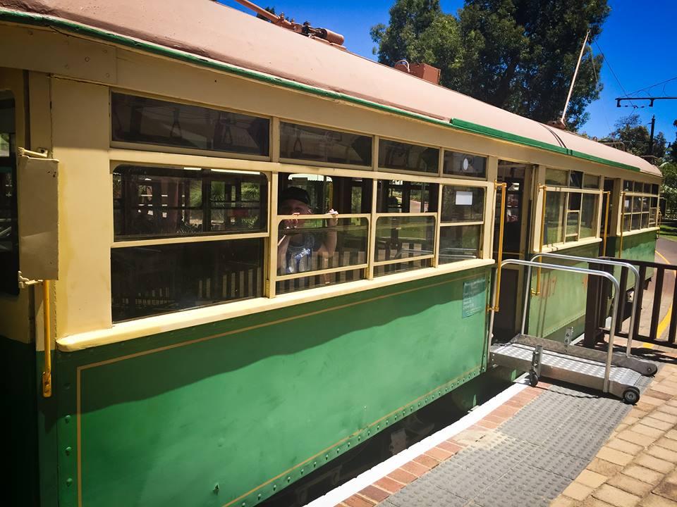 Whiteman Park Tram
