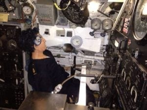 Submarine HMAS Ovens, Fremantle