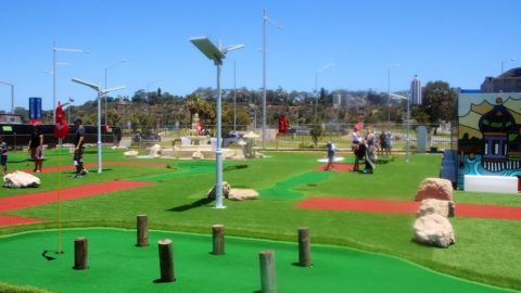 Adventure Golf, Elizabeth Quay