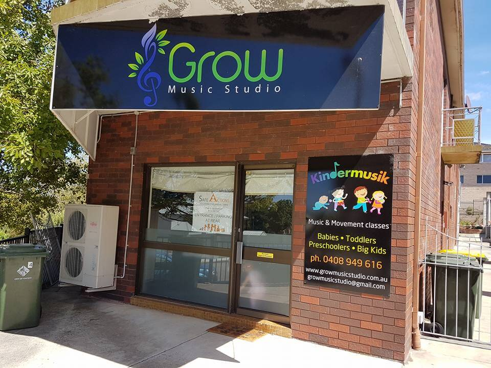 Wiggle and Grow Kindermusik, Grow Music Studio, Perth