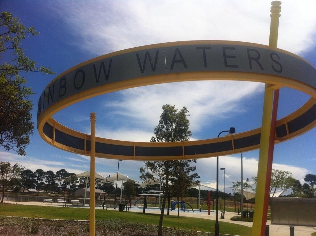 Rainbow Waters Playground, Ellenbrook - Buggybuddys guide