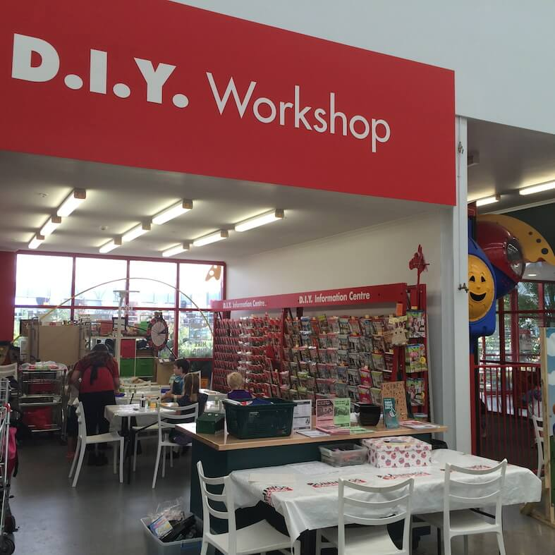 Bunnings Warehouse, Joondalup, Kids Entertainment
