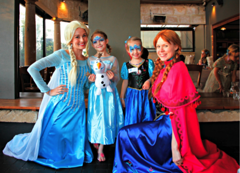 Encore Kids Parties – Snow Princess Tea Party