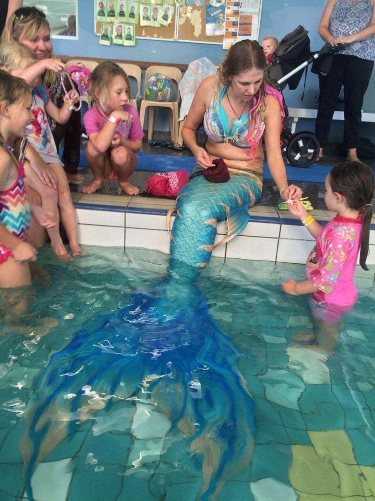 Party at Wanneroo Aquamotion with Mermaid Amelia