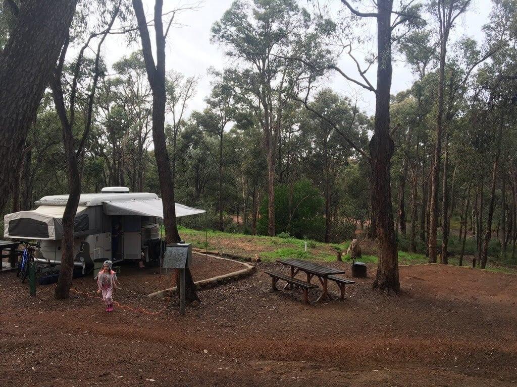 Lake Leschenaultia Camp Site