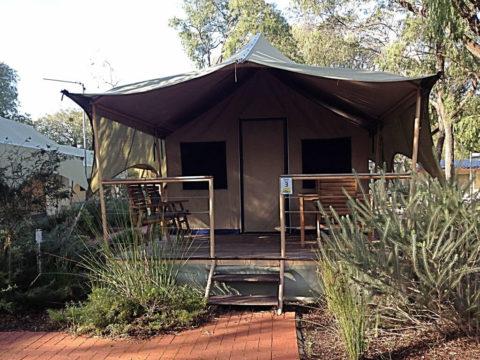 Amblin Holiday Park Safari Tents, Busselton