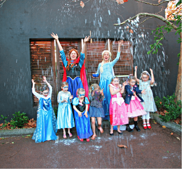 Encore Kids Parties – Snow Princess Tea Party