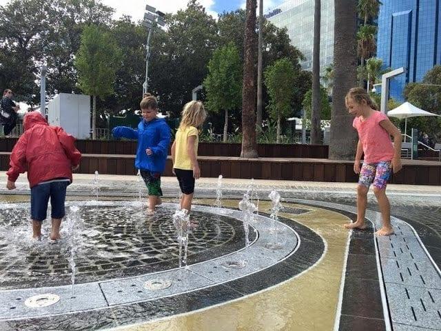 Water Playground Elizabeth Quay