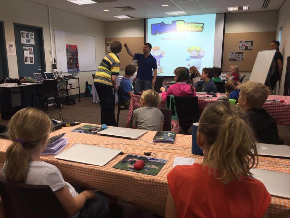 Minecraft Camps, Perth