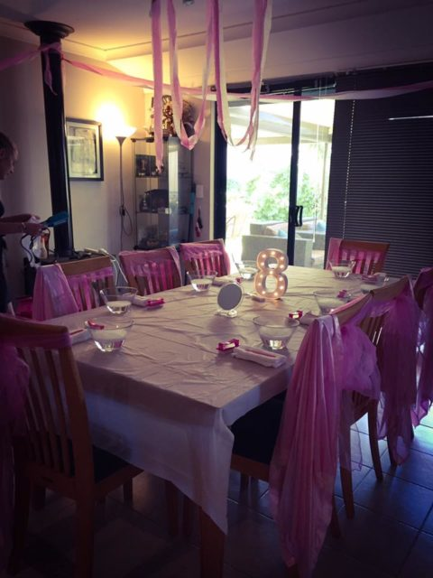 Pretty Princess Pamper Parties