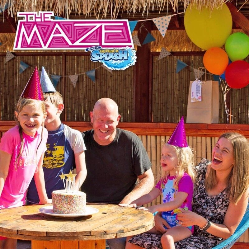 The Maze, Home Of Outback Splash