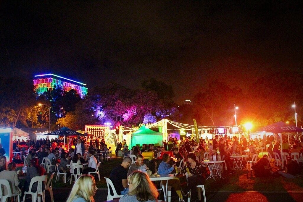 Perth Night Noodle Market, Elizabeth Quay