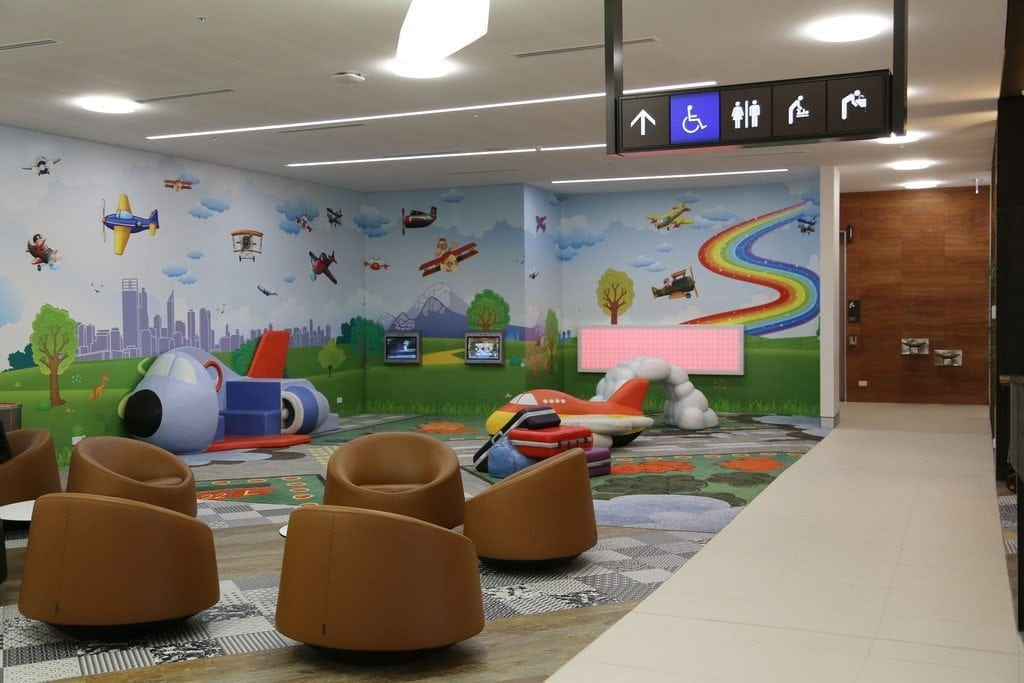 perth airport play area