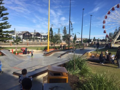 Scooter Tricks and Skills, Esplanade Youth Plaza, Fremantle