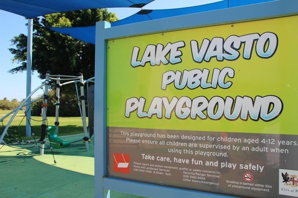 Lake Vasto Playground, East Perth