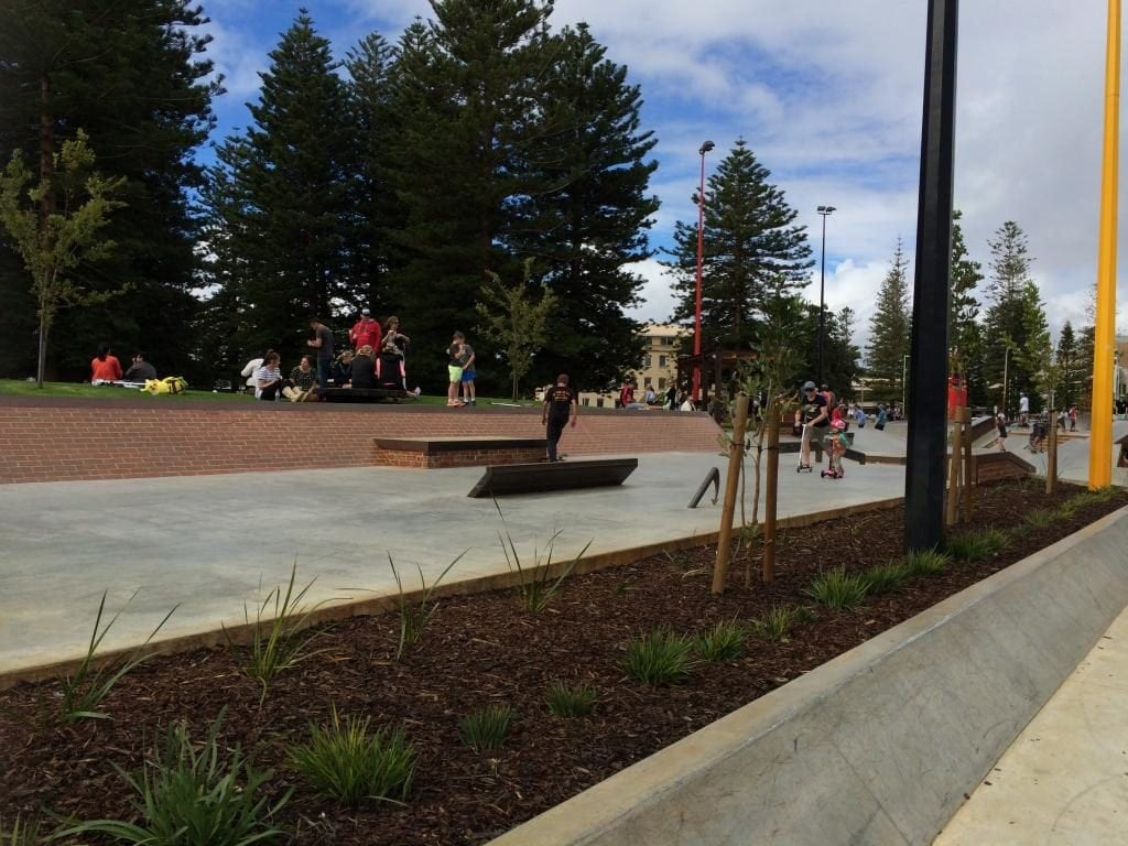 Esplanade Youth Plaza, Fremantle