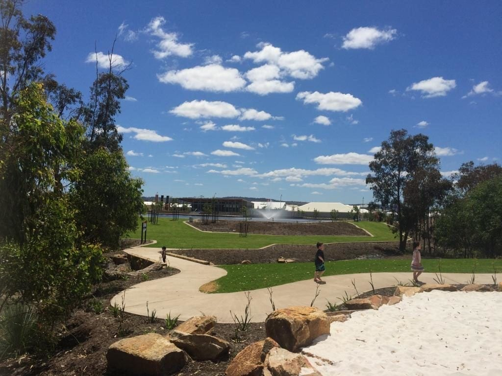 Annie's Landing District Playspace, Ellenbrook