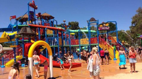 Outback Splash at The Maze Family Fun Park, Bullsbrook
