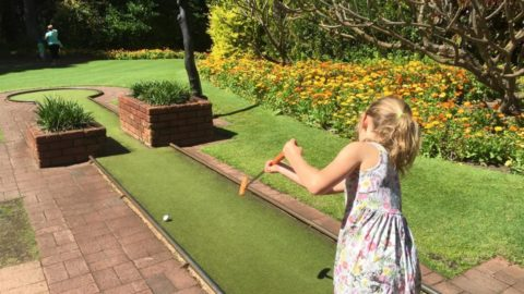 Mini Golf at Wanneroo Botanic Gardens