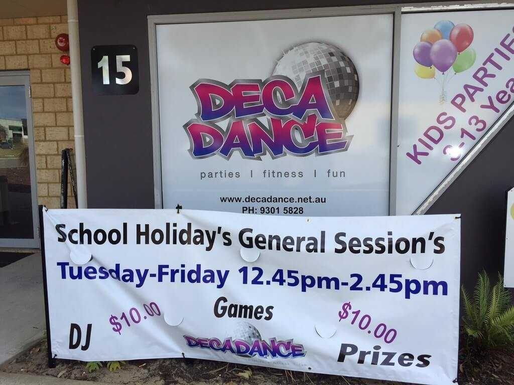 Decadance School Holidays, Joondalup