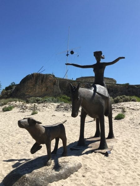 Sculpture at Bathers, Fremantle