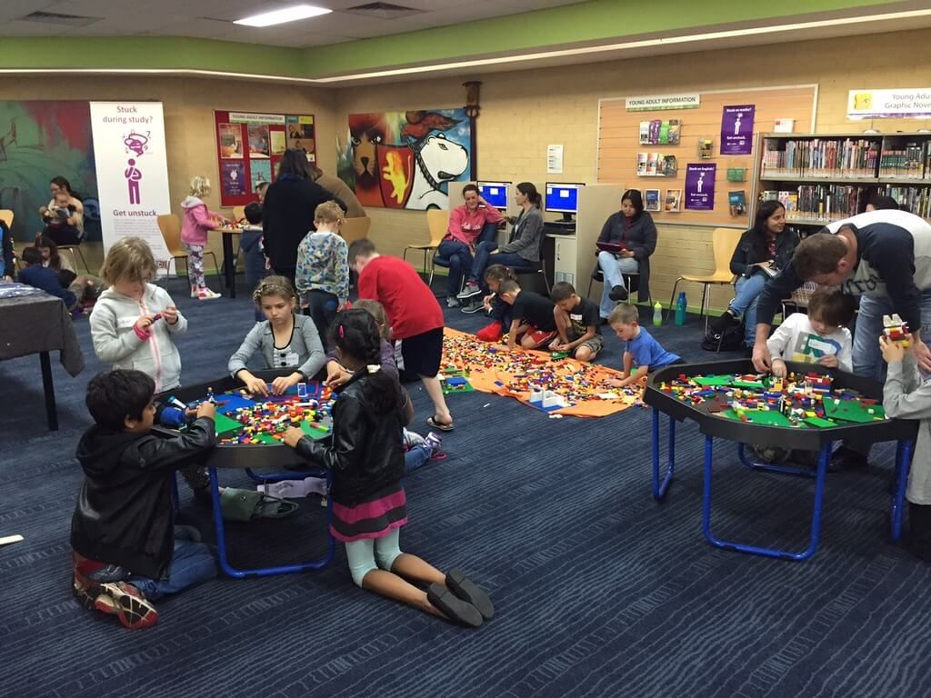 Lego Club at Woodvale Library