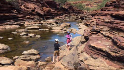 Z-Bend River Trail and Lookout Kalbarri