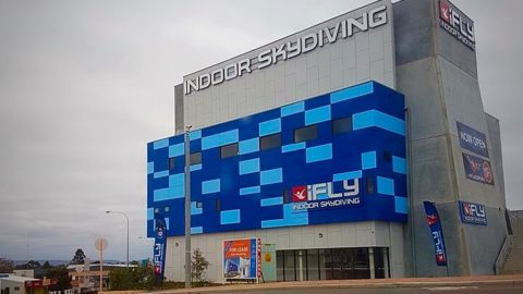 iFly Indoor Skydiving Experience, Perth