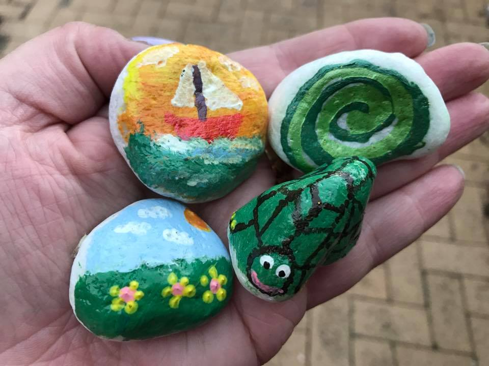 Painted Rocks Craze