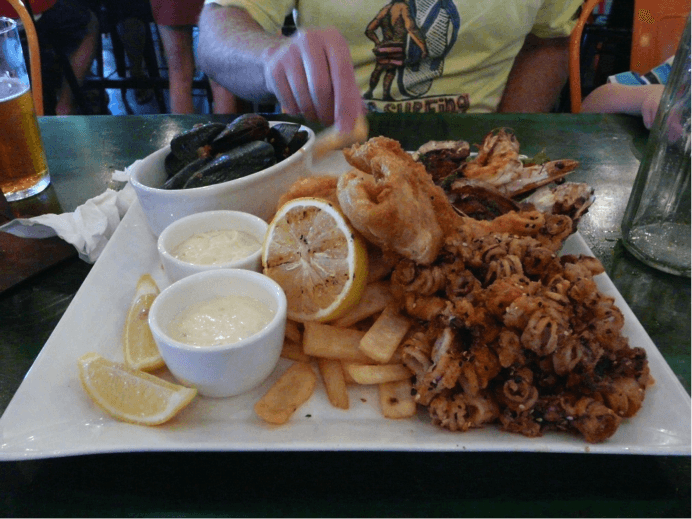 Clancy's Fish Bar, City Beach