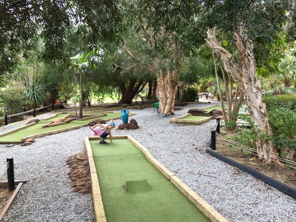 Caladenia Mini Golf