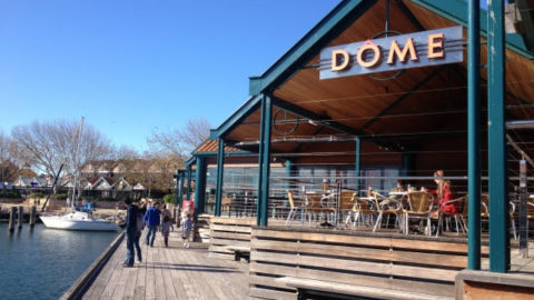 Dome Cafes with or near Playgrounds