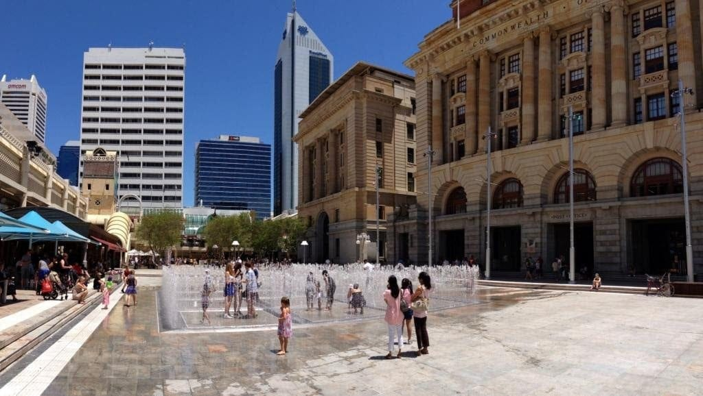 Perth's Best Free Water Playgrounds