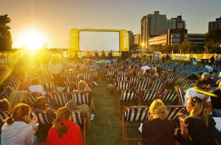 Outdoor Cinema Perth Outdoor Cinema Rooftop Cinema