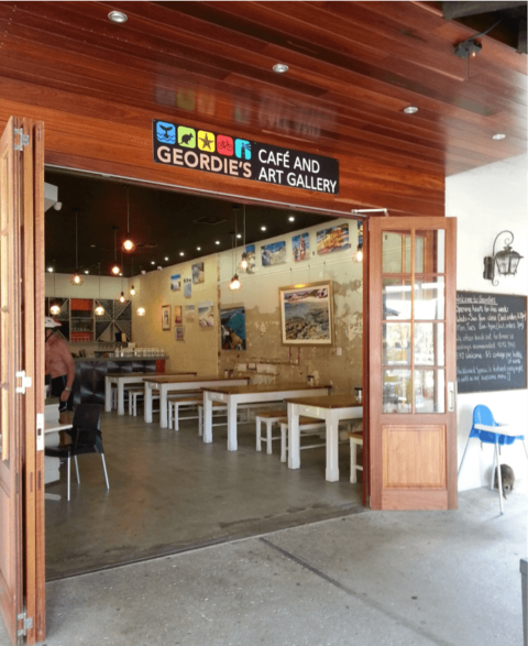 Geordie's Cafe and Art Gallery Rottnest