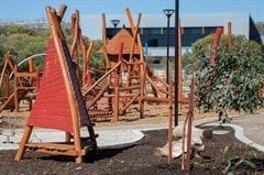 Nature Play Space at Mills Park