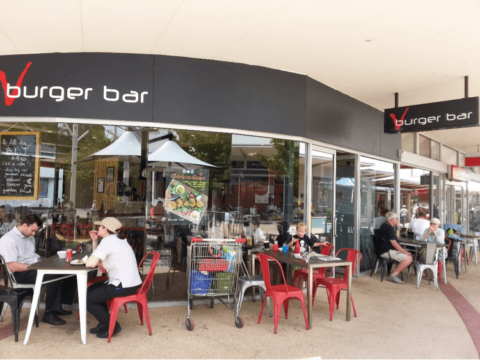 V Burger Floreat Forum Shopping Centre