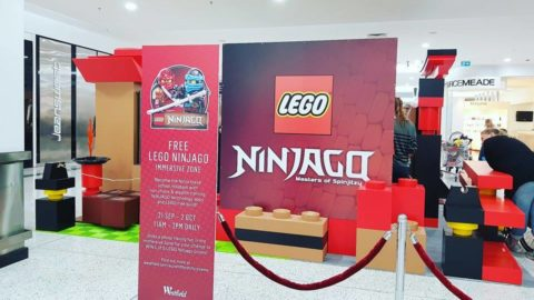 Westfield Whitford City – Lego Ninjago Immersive Zone