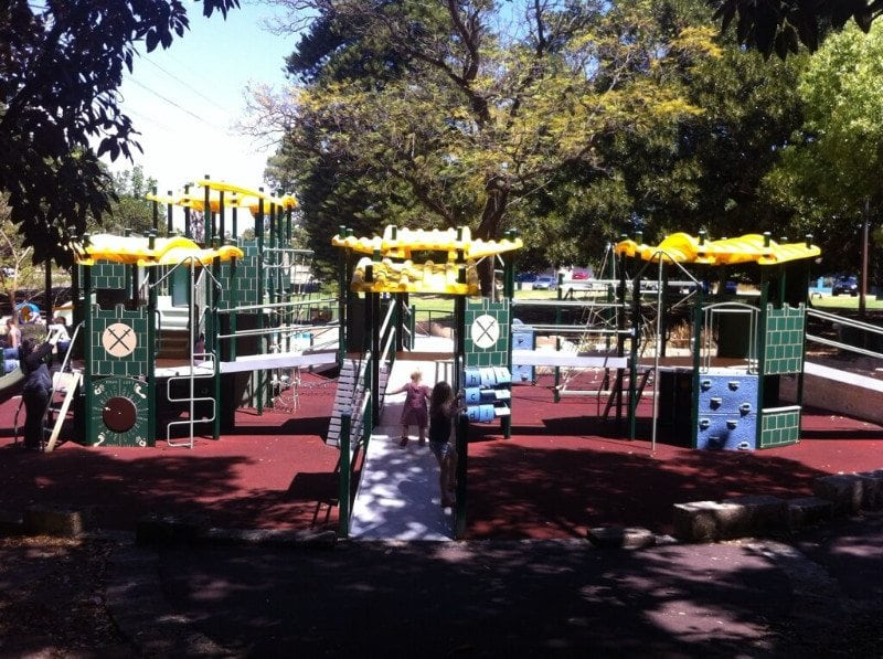 Hyde Park Playground, North Perth