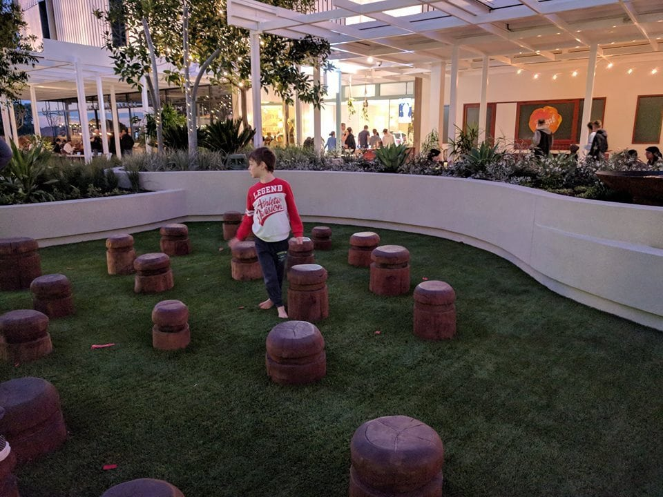 Westfield Whitford City's Dining & Entertainment Play Area