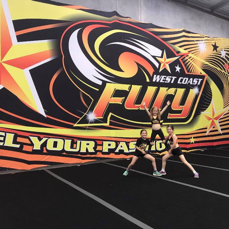 West Coast Fury Cheerleading