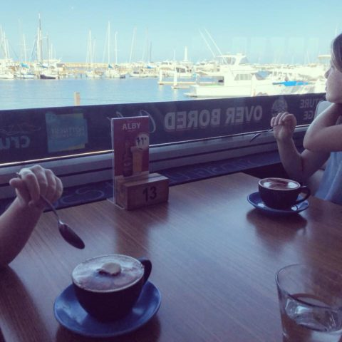 Over Board Café, Hillarys Boat Harbour