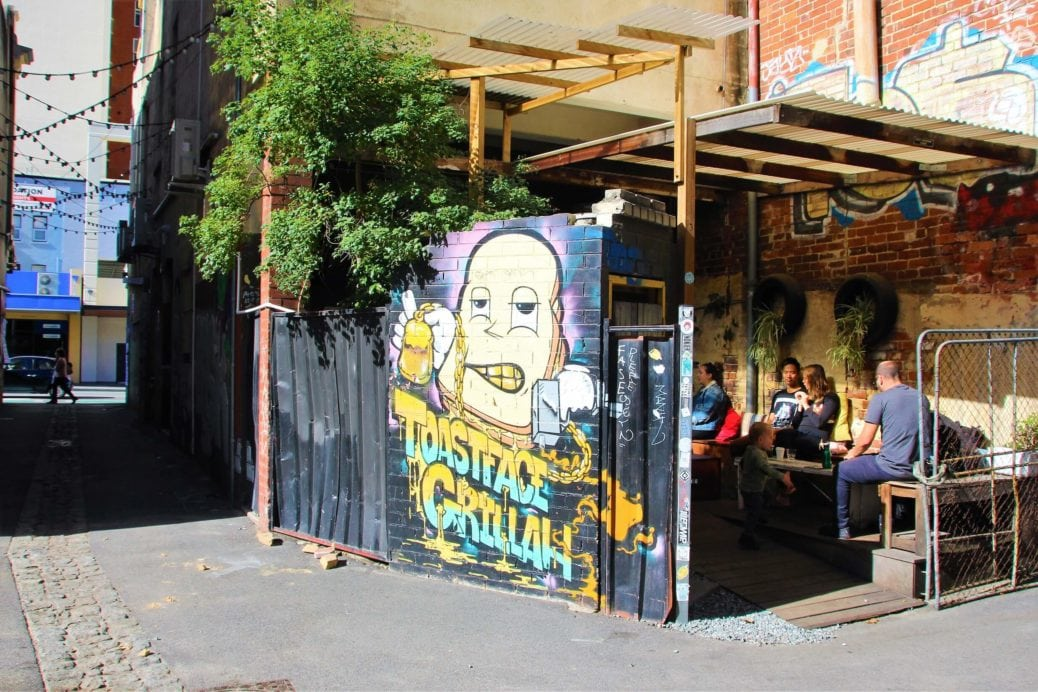 Toastface Grillah, Perth City