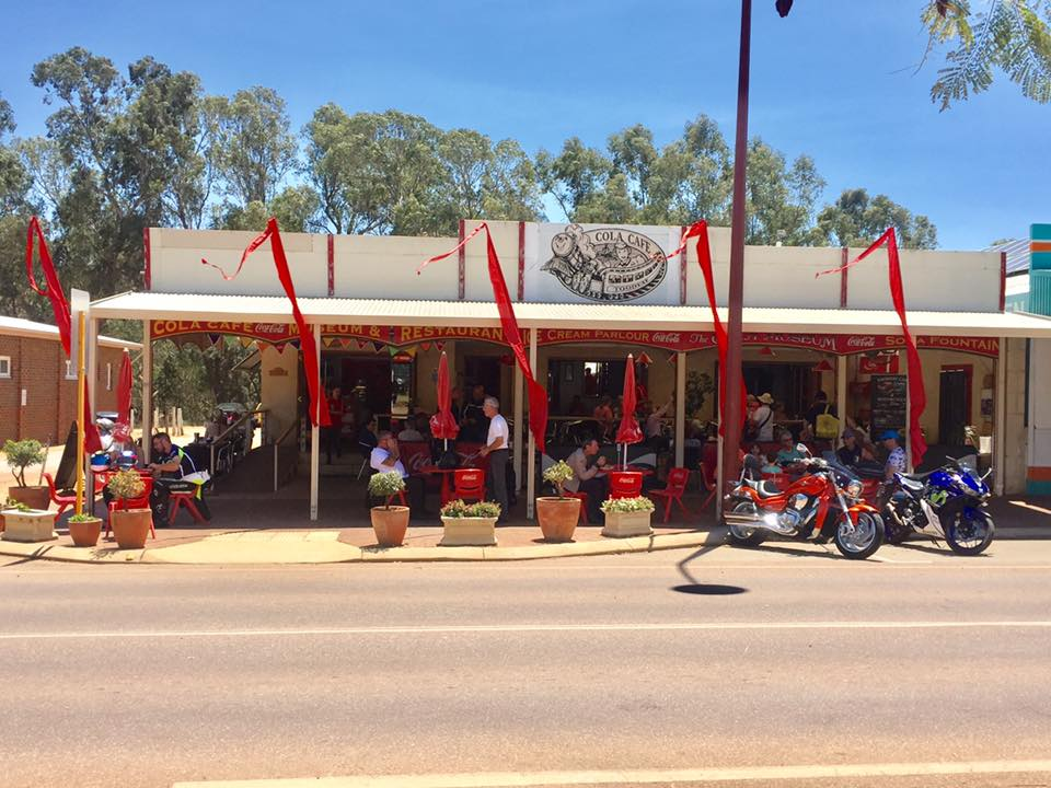 Cola Cafe Toodyay Menu