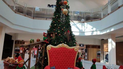 Santa at Morley Galleria