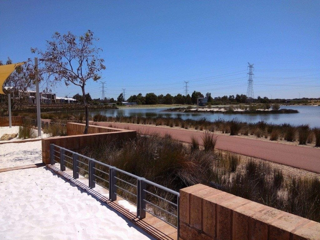 Joe Saunders Park, Champion Lakes